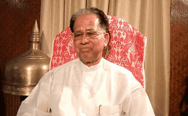 I am grieved to learn about the sudden demise of Shri.Tarun Gogoi @tarun_gogoi ji, a senior Congress leader and former chief minister of Assam. My condolences to the bereaved family members. May his soul rest in peace at the feet of Almighty.