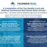 Image for the Tweet beginning: Feldman Ruel's The Week in
