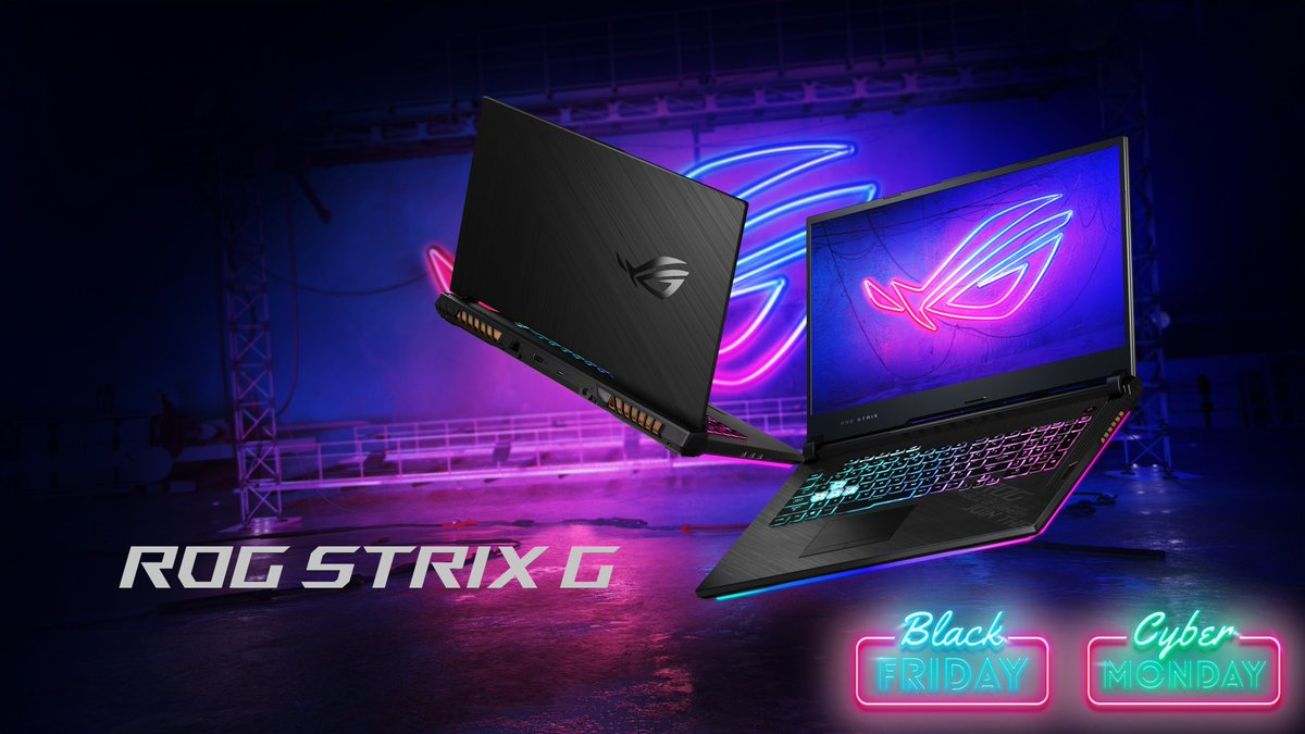 ASUSROG_UK - An @IntelUK i7, RTX 2070 and 144Hz display with a £200 saving ?!?😱  Save BIG this #BlackFriday on the ROG Strix G15  Find all our #BlackFridayDeals here: