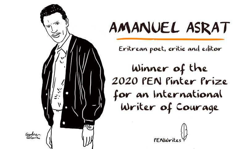1000 weeks have passed since #PENPinter award-winning writer Amanuel Asrat was arrested in Eritrea. Join us in sending messages of solidarity to his family to show that he wont be forgotten. englishpen.org/pen-writes/pen… #FreeAmanuelAsrat #PENWrites