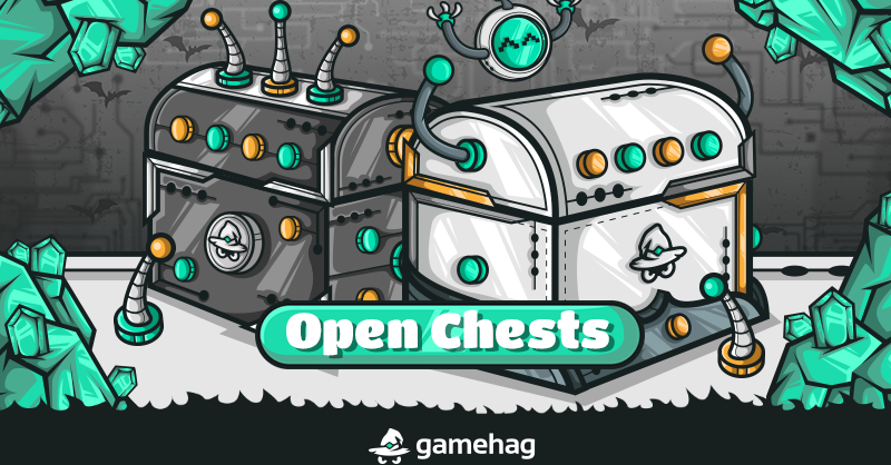 @GamehagOfficial A second free chest has already been added to your inventory! Open it as soon as possible and get the best rewards! Receive the Cyber Chest! 👉   #gamingpc #CyberMonday