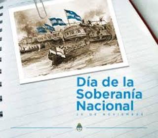 Los 20 de noviembre se celebra el día de la Soberanía Nacional. El feriado es para recordar la resistencia del ejército argentino en la batalla de la Vuelta de Obligado 1845 frente al ejercito anglo-francés. Recordamos a los que defendieron cada metro de nuestra tierra querida. https://t.co/eL04oI3SW2