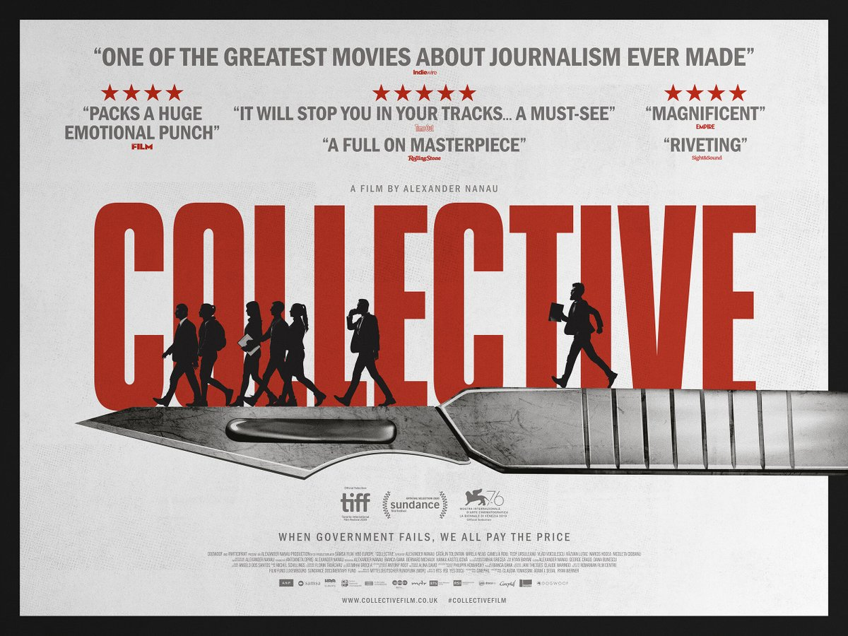 📽️What we're watching: #CollectiveFilm. Following journalists, whistle-blowers, victims & government officials, this excellent documentary is an uncompromising look at the impact of investigative #journalism at its best. Streaming now:  #IBTRecommends