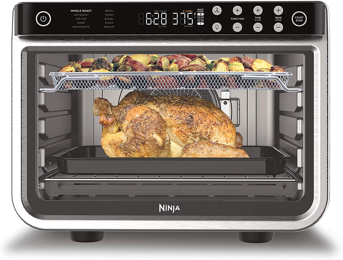 Special Offer - Ninja Foodi 10-in-1 XL Pro Air Fry Digital Countertop Convection Toaster Oven for $239.99    #cooking #giftideas #thanksgiving