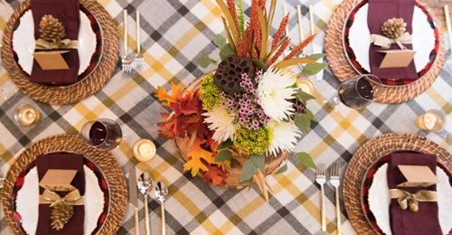 Getting ready for the big day? Even if your get-together is a little more intimate this year, think festive with these holiday table inspirations!  @GinaBello4  #thanksgiving #NewJersey
