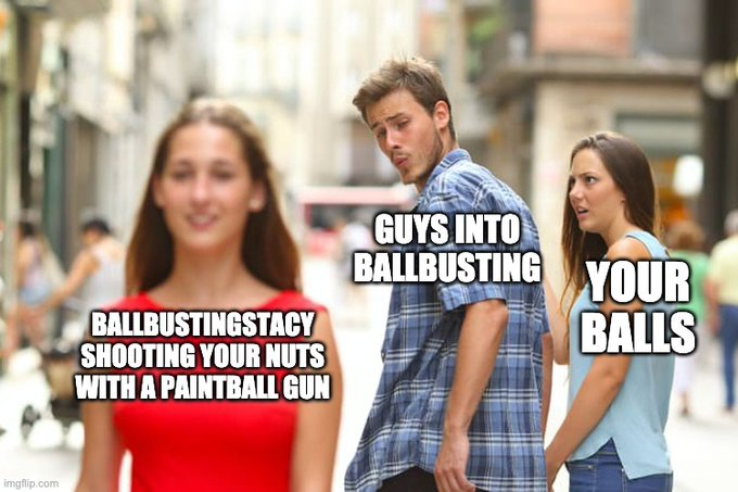 Made this very accurate meme 😂 #ballbusting https://t.co/pfewspH3Xb