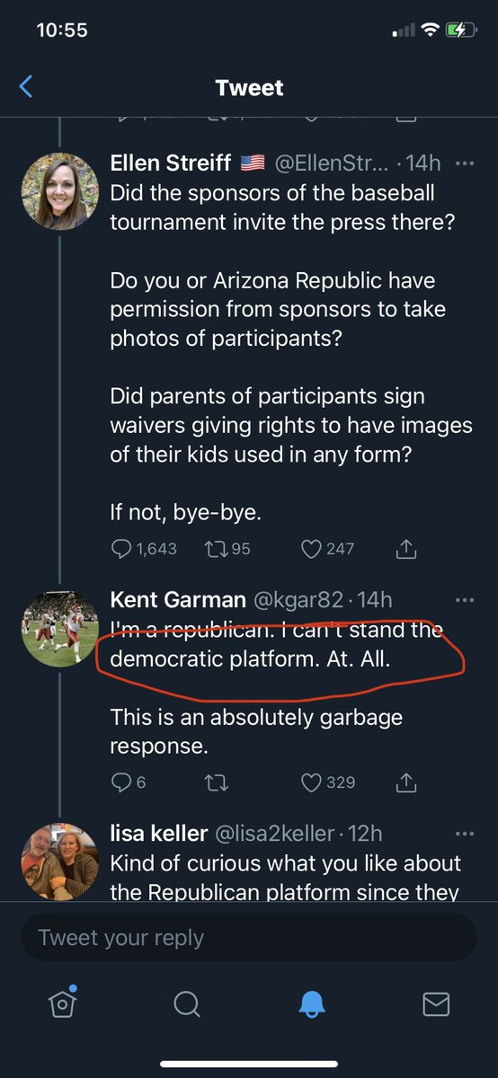 @kgar82 @lisa2keller @EllenStreiff @pjbreenphoto Nope, didn't miss it. Didn't miss this part either. But, as a typical Republican, when informed of your error, you try to blur lines then insult. I'm ok with that. As usual, we have receipts on our side. #BeBest 🥰😘