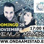 Image for the Tweet beginning: DOMINGO 29 NOVIEMBRE 2020 EN