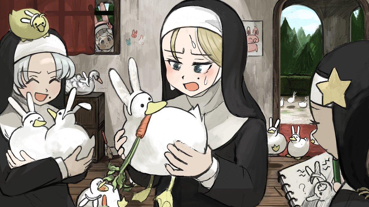 Re: [閒聊] 修道院的修女們