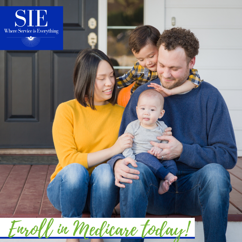 Be sure to enroll in Medicare before the deadline on December 7th of 2020. #SIE #Medicare #EnrollToday