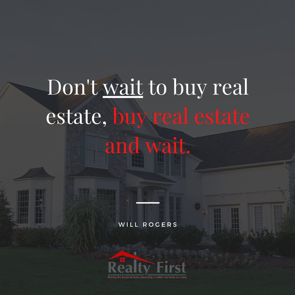 Interest rates are at an all-time LOW. The best time to buy a house is NOW! Get started today by calling the Realty First TX Team @ 817-405-7647. Our skilled agents are available & ready to get you into the home of your dreams! #mondaymotivation #realtyfirsttxteam #nbeliterealty