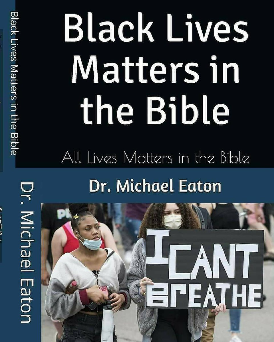 #MondayMotivation  Coming in March 2021!!!! Black Lives Matters in the Bible View Dr. Michael Eaton's 📚 books for Hope!  Read free@    #hopefully