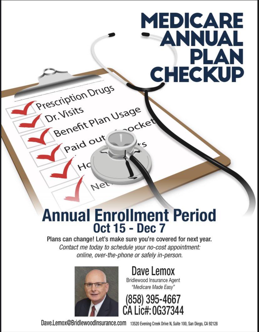 Annual Enrollment Period ends December 7th!   #medicare #annualenrollment #seniorcare #healthcare