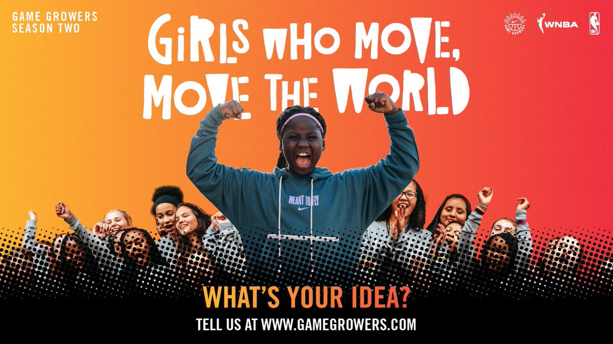 Use your voice to empower and inspire!    Nike #GameGrowers offers 7th and 8th grade girls an opportunity to share ideas to encourage more girls to play sports.   Apply at