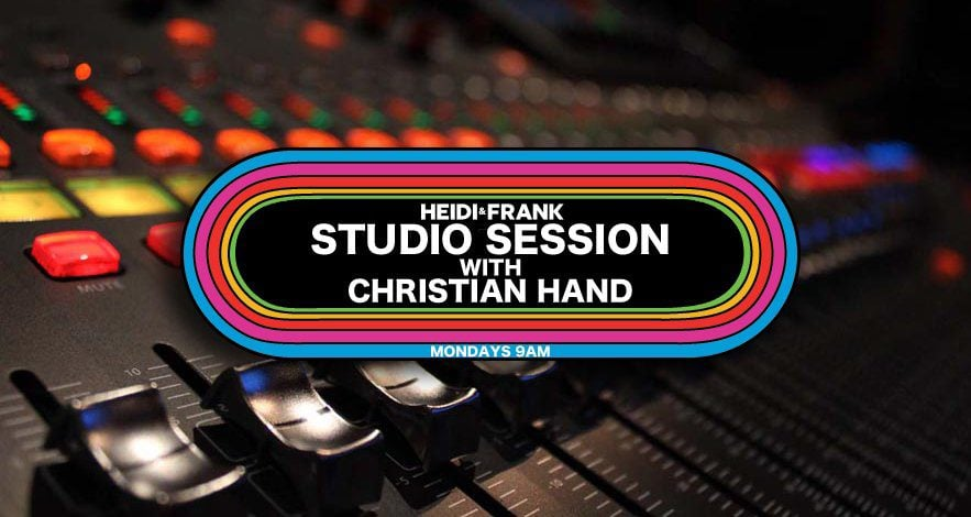 Join Christian for a new #StudioSession as he breaks down a song to its individual tracks for Heidi & Frank @heidiandfrank_ coming up at 9am PT. Listen live on the radio or streaming thru https://t.co/4CEMiVHjXm. #TheSession @955KLOS https://t.co/QAqvglYSyQ