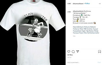 Neo-Nazis are selling racist products on Facebook and Instagram.  Facebook has left these pages online, despite being told about them 3 days ago.  @Facebook, please remove this neo-Nazi network in full, now.