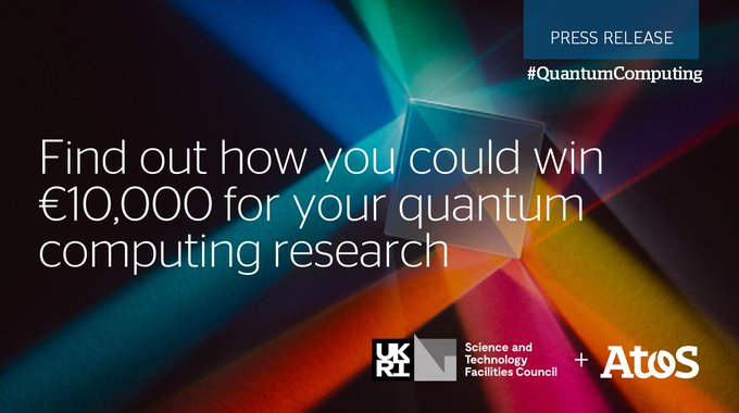 Are you a researcher, academic or industry scientist working in #QuantumComputing? Apply for...