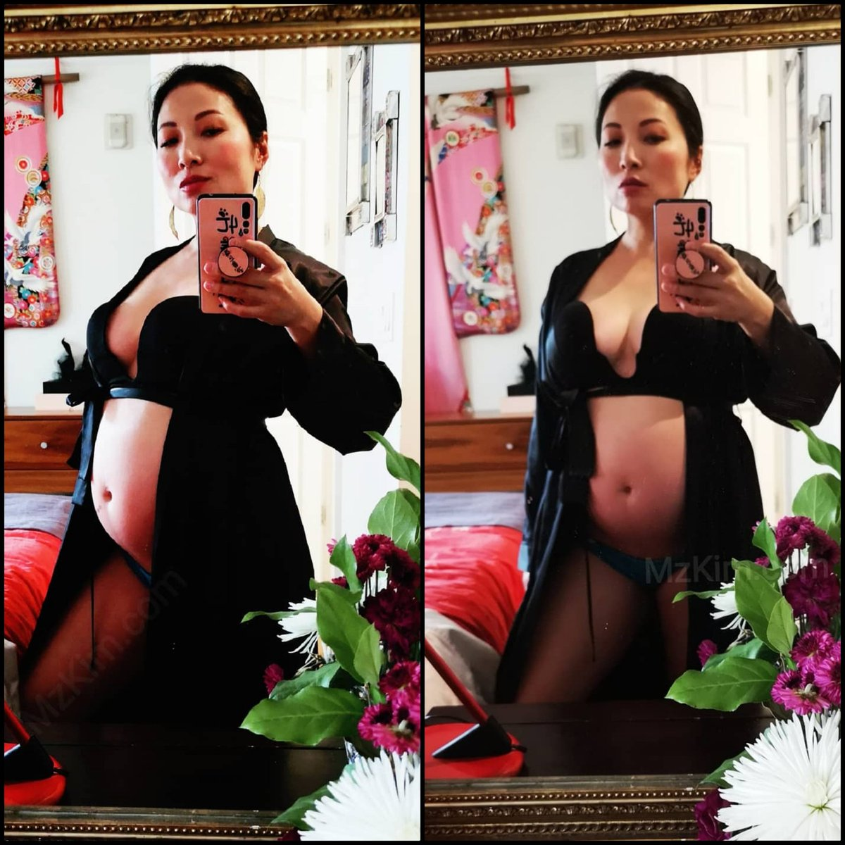 Well, heres something SCARY TO SHARE: Im super pregnant! This was not an easy decision to make, sharing this news. Yes, I am a dominatrix. Yes, I am a SW (s3x w0rker). And yes, I am pregnant. I hope to get support from my followers and friends. 1