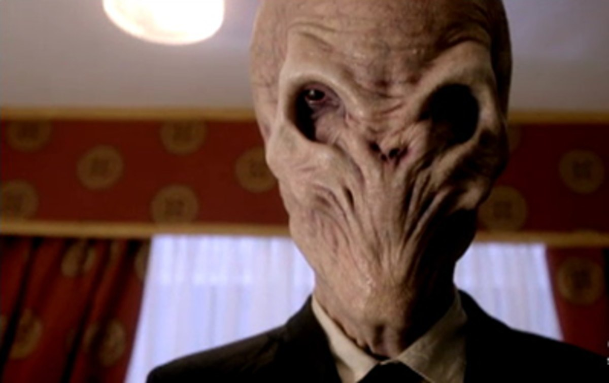 Happy #DoctorWhoDay y'all! The Doctor has faced their share of wacky, creepy, and fun creatures over the years. Which ones are your favorites?    For us, The Silence from the Matt Smith era are a great example of a Doctor Who villain that can really get under your skin...