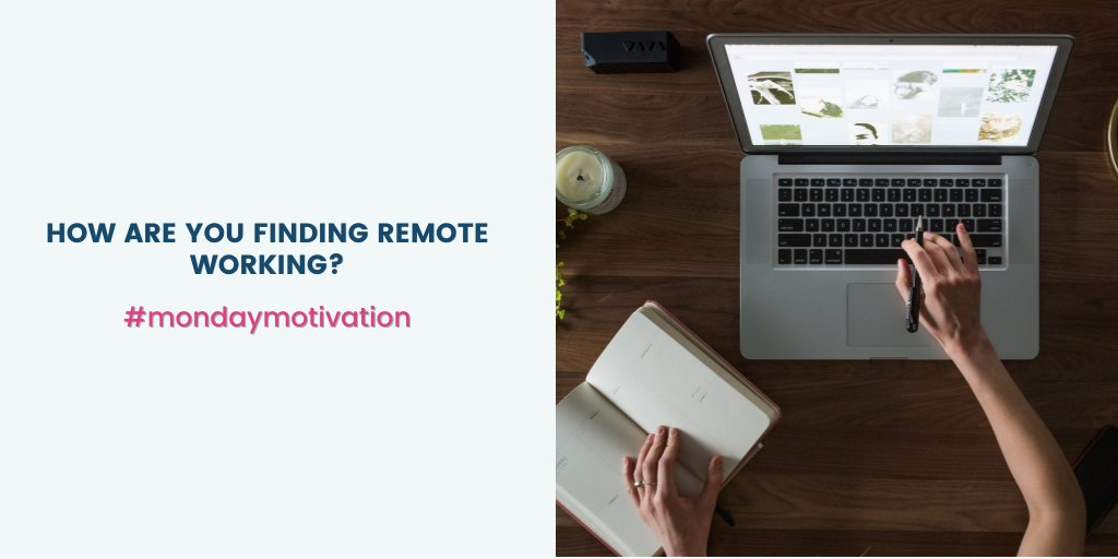 Remote or home working continues to be a necessary format for many in the current time.   But, how are you and your team overcoming the challenges of working viaa such means?   Let us know your thoughts.  #mondaymotivation #remoteworking #digitalskills #fundamentalskills