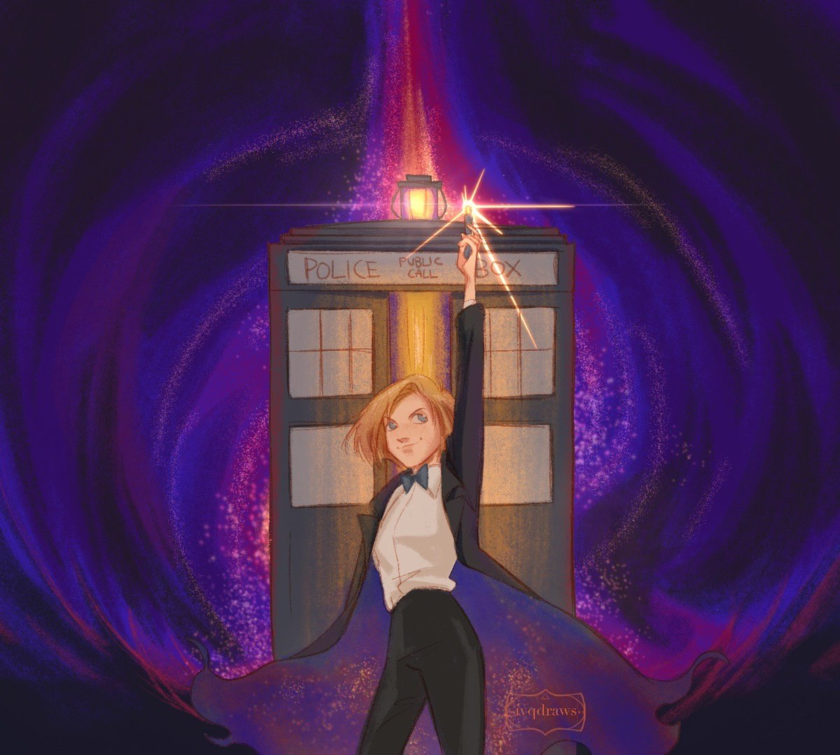 reposting some of my #DoctorWho fanarts from last year for #DoctorWhoDay !!