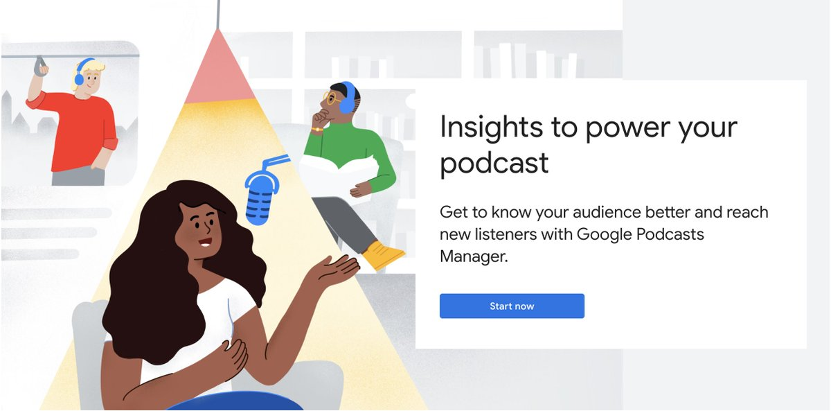 Podcasters! Learn tips and tricks to improve your podcast's reach and substance. Tune in today at 1:00 EST to a live training:  #GoogleNewsInitiative #podcasts #digitaljournalism