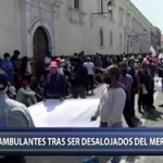 Image for the Tweet beginning: Trujillo: Ambulantes protestan tras ser