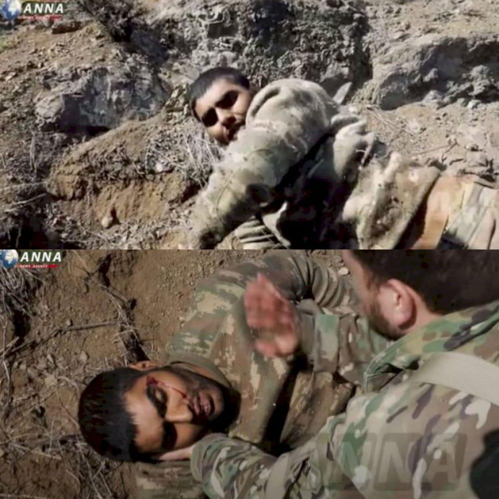 Armenian soldiers don't hesitate to beat captives in front of journalists. #bringbackAmin #bringbackBayram @ICRC @amnesty @hrw #BIR2020 @FRANCE24 @guardian @washingtonpost @CNN @BBCWorld @nytimes @FoxNews @Independent @Reuters @Telegraph @TIME @UNHumanRights @UN @OSCE