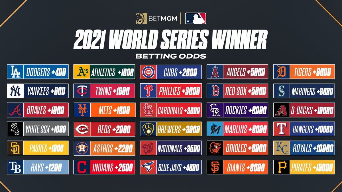 2021 world series betting line sports betting investment funds