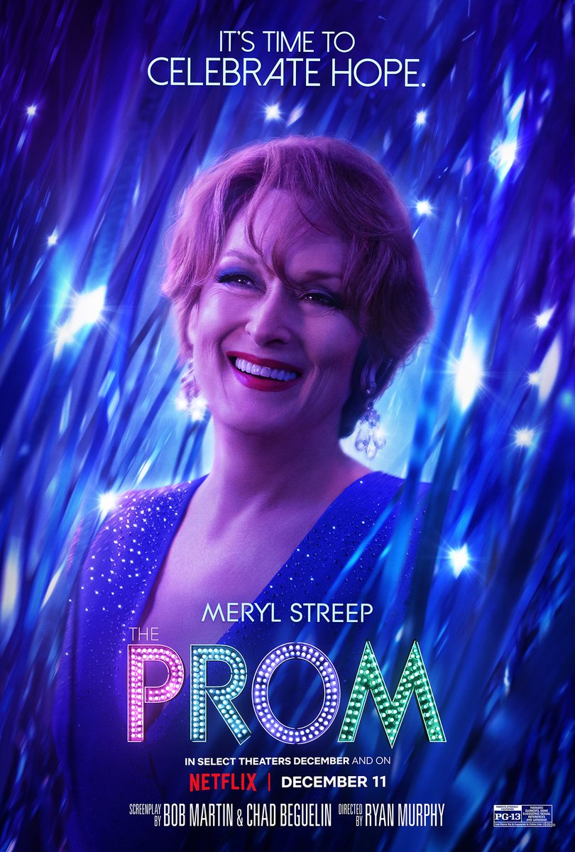Replying to @MrRPMurphy: It's time to celebrate EVERYONE ✨ @PromNetflix is available globally Dec. 11, only on Netflix
