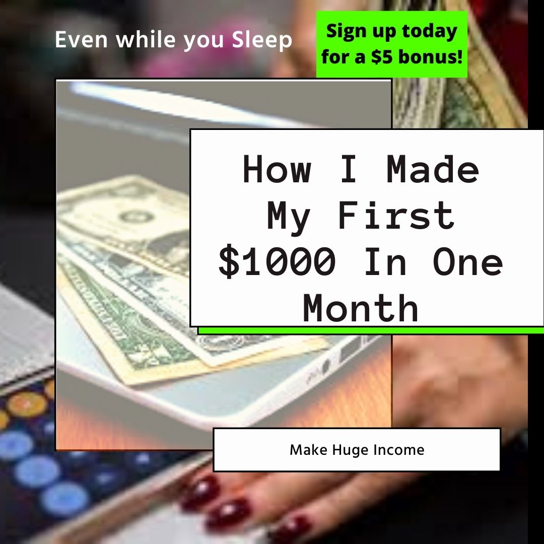 Sign up today for a $5 bonus! Go to the link in my bio to find out how?  #makemoney #money #makemoneyonline #workfromhome #investment #motivation #millionaire #cryptocurrency #makemoneyfast #earnmoney #FreePS5Monday #MondayMotivation #mondaythoughts #MondayMorning #PatIDontWant