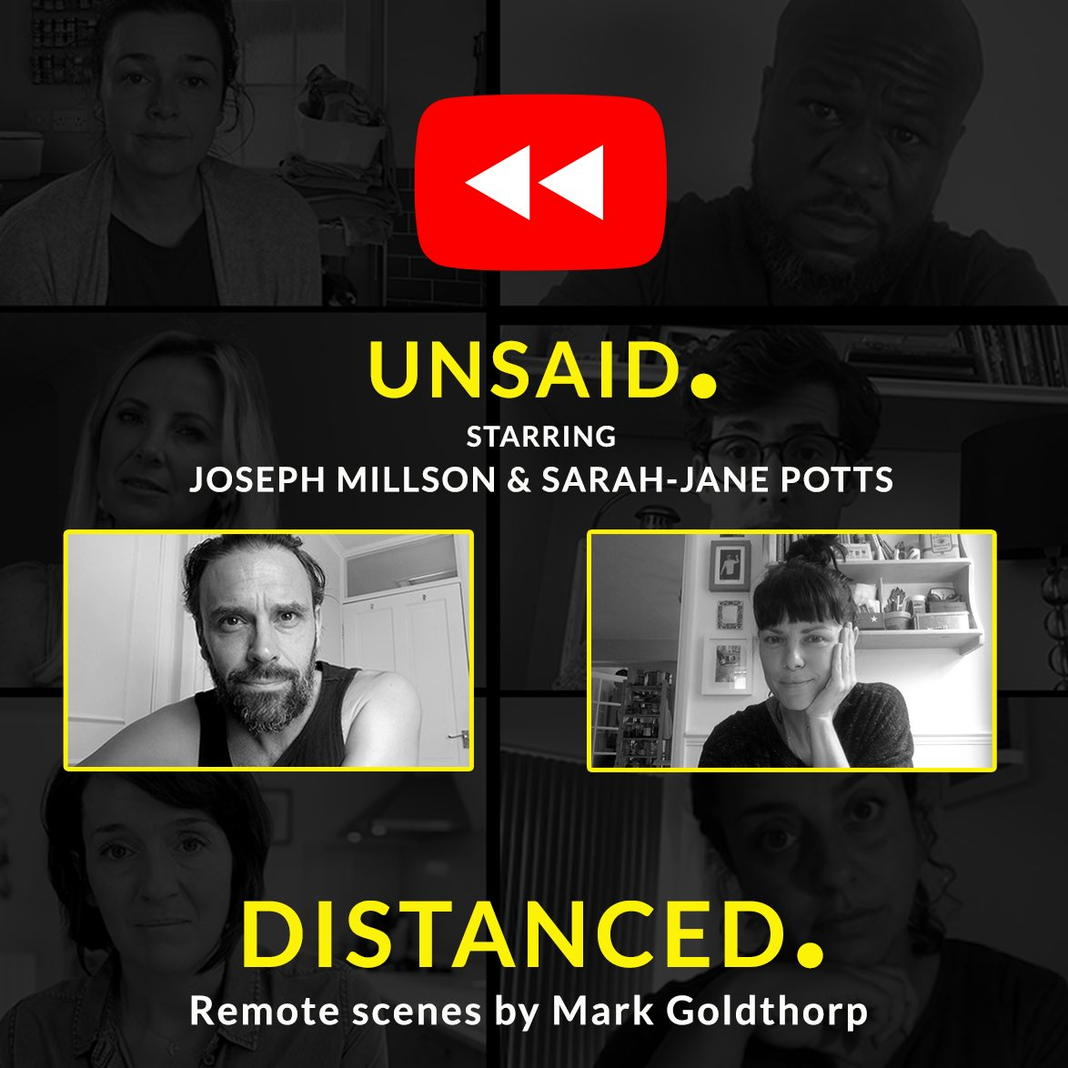 REWIND WEEK ⏮ Click to watch 👉 youtu.be/SYxe-LGOBjw All this week, we're throwing it back and re-watching one episode of series one each day! 🎞 Today it's UNSAID. Starring @josephmillson & @RealPottsSJ Don't forget to like the video and subscribe to our channel!