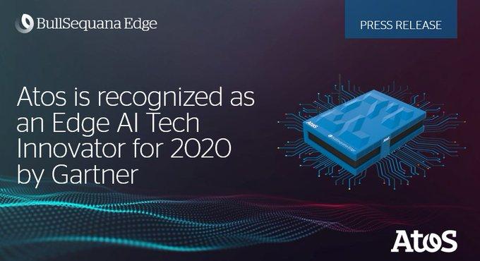 Atos today announces that Gartner, Inc. has named Atos as an Edge AI Tech...
