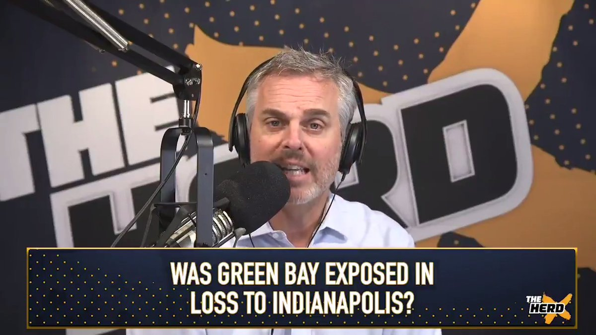 Yesterday's loss is why the Packers can't be trusted:   @ColinCowherd: They haven't solved anything. Green Bay remains the convertible sports car of the NFL. https://t.co/bfR01x2L4k