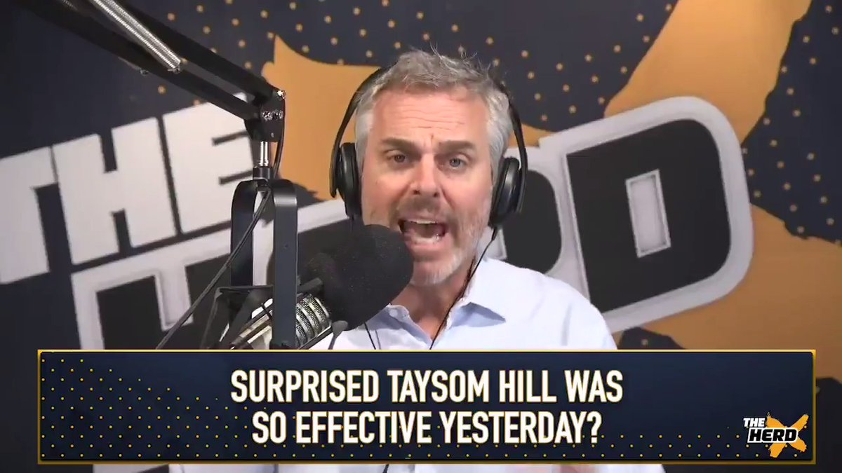 """Taysom Hill is Duct Tape for the New Orleans Saints:  """"Sean Payton just wants to win 3 games. Jameis is the better longterm answer but we're not talking longterm."""" — @ColinCowherd https://t.co/gWZA7adcLP"""