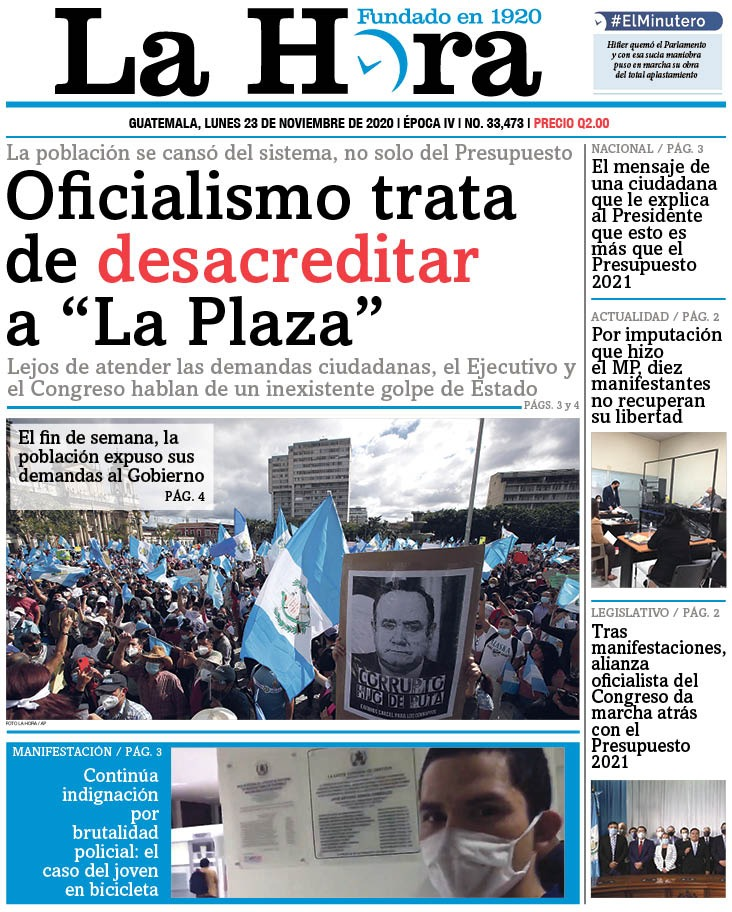 "test Twitter Media - #PORTADADEHOY Oficialismo trata de desacreditar a ""La Plaza"" 👉🏽[https://t.co/HMv6gP1UPt] 👉🏽[https://t.co/El0G16u6s5] https://t.co/QCpuseXLUL"