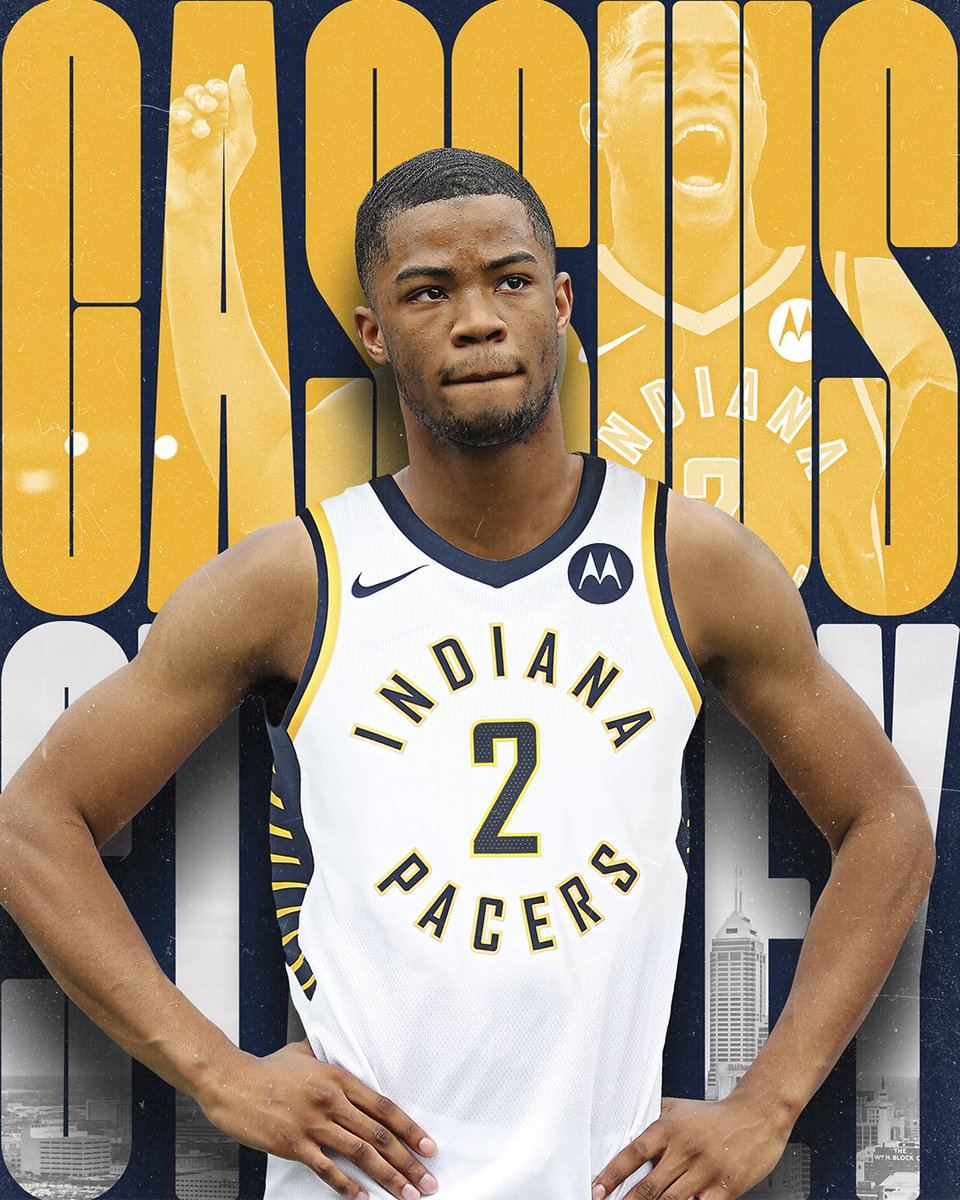 OFFICIAL: @cassius_stanley will wear #️⃣2️⃣ for the #Pacers.   Reserve your jersey from the @PacersTeamStore at https://t.co/nsICSeEHTJ https://t.co/etji7vD5Xr