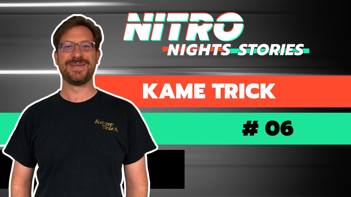🎙 Join us in welcoming Ben aka @TheKameTrick to tomorrow's #NitroNightsStories (7pm CET)! 🙌  Ben loves to drift and create videos! If you have questions for him, send them in now! 👇 https://t.co/b121EzlIDK