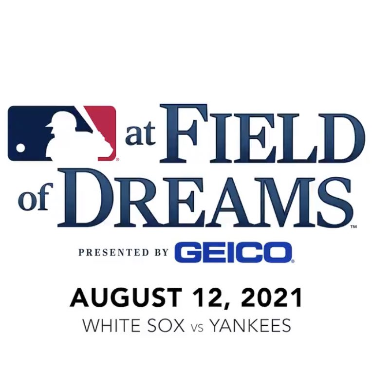MLB's Field of Dreams game will feature the White Sox and Yankees on Aug. 12, 2021.