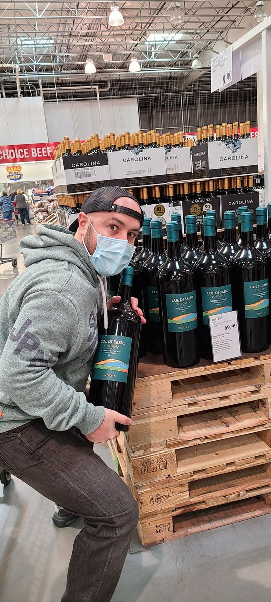 Rivalxfactor - Gigantic wine bottle at Costco for 69.99  Nice.
