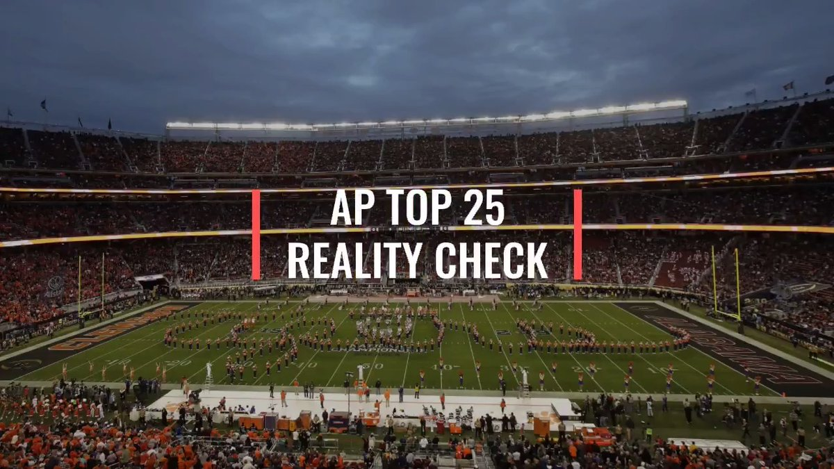 In his latest AP Top 25 Reality Check, College Football Writer @ralphDrussoAP believes the College Football Playoff selection committee would be wise to match the AP voters this year.  Read more >>