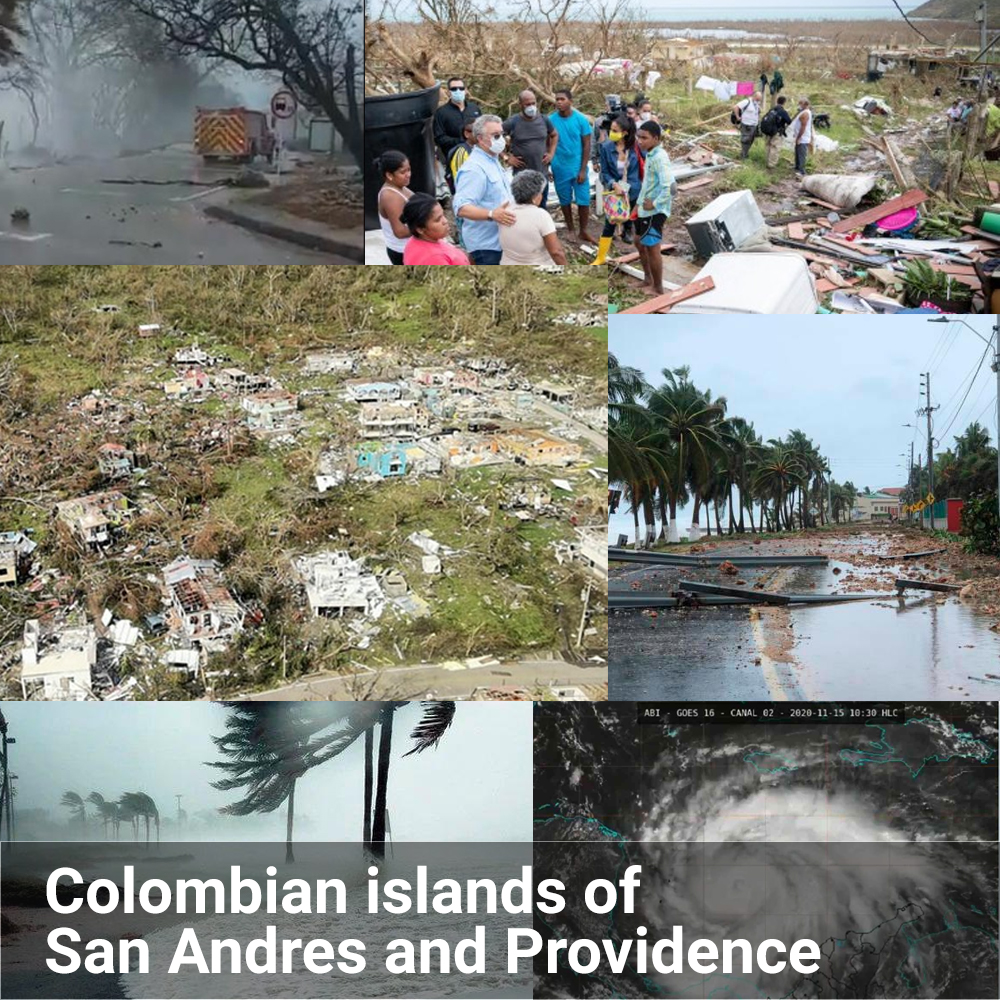 The #NSerio team is raising funds to help all people on the Colombian islands of San Andres and Providence, that have been devastated by hurricane #lota. NSerio will match it's team member's donations 3 to 1, and our thoughts and prayers go out to all those affected. #huracanlota