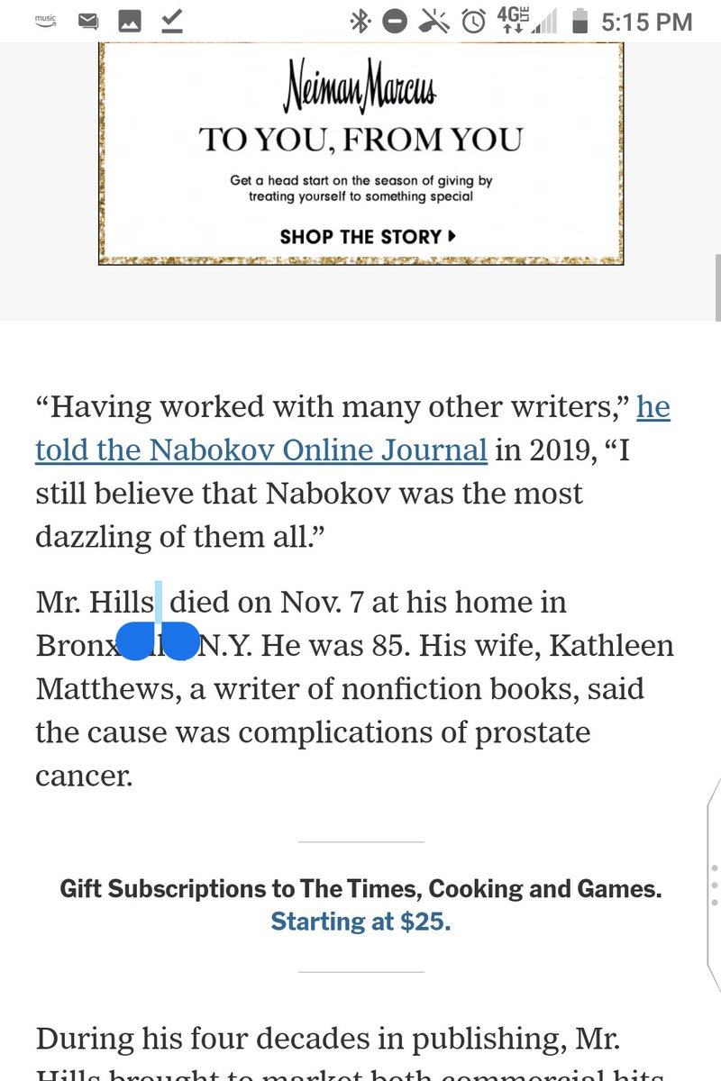 You still have an extra space in the sentence where you plugged in the date he died.  It would be cool if you crafted obituary copy with care, but alas, the exigencies of online journalism that I'm told I don't understand seem to prevent it.  @kseelye @_jasonbailey_ https://t.co/v1sroPmOB2 https://t.co/ArQlnARgtw