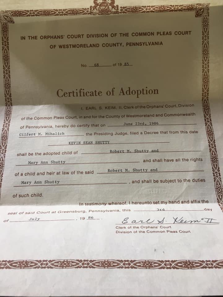 Today is #NationalAdoptionDay. Forever grateful to have been given a shot at life by my parents - adoptive and birth.