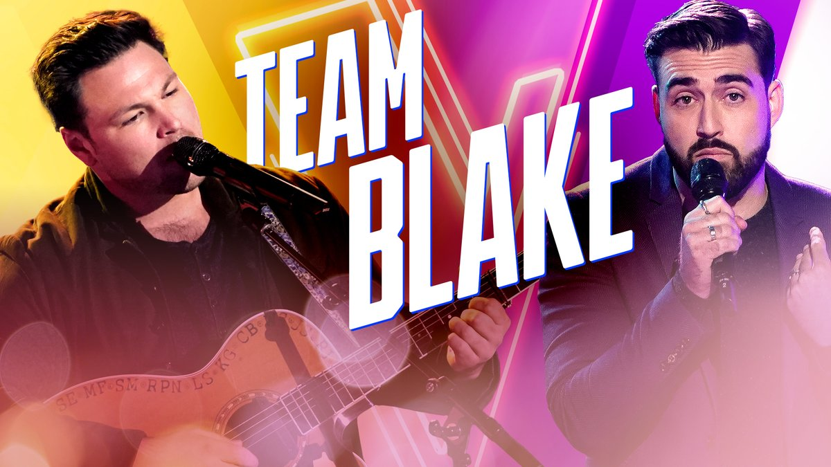 You are not ready for how powerful @IanFlanigan & @Jamespylemusic's voices are. 🙌 #TeamBlake #VoiceKnockouts