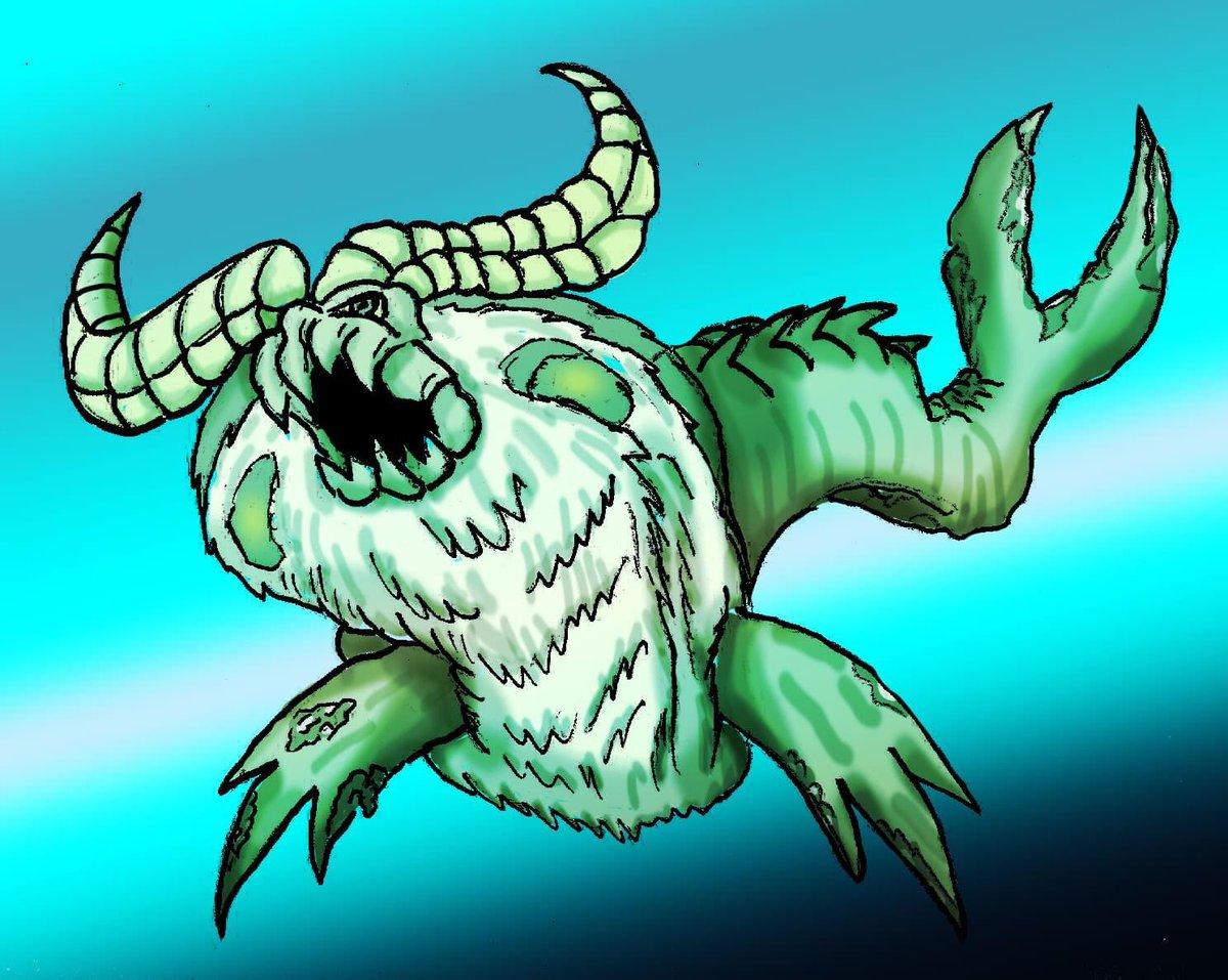 #MonsterHunter #monsterhuntertri #Videogame #artchallenge Monster Hunter Madness 23, Ceadus https://t.co/iJKKnV0gTw