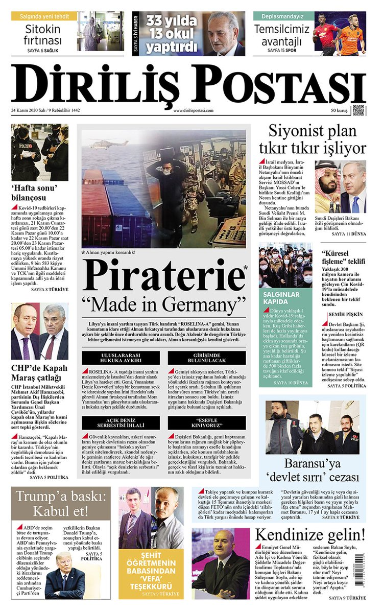 "@dirilispostasi    Piraterie ""Made in Germany""...  #Irini"