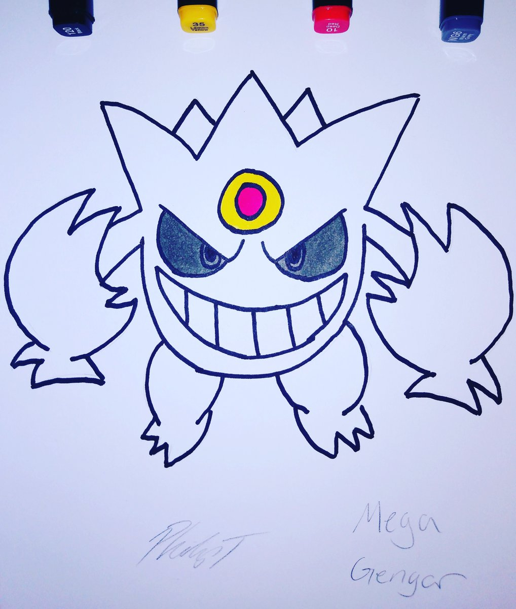 First Time Drawing Shiny Mega Gengar! ✨👻 #90sKid  #Draw #Nostalgic #Art  #CartoonArt #Nintendo #Games #VideoGame #Pokemon #MegaPokemon #GameBoy #Ghost  #Kanto  #PencilArt  #Anime #Manga  #ChibiArt  #Doodle #Drawing #Chibi #Gengar #MegaGengar https://t.co/ReJbxVAQTd