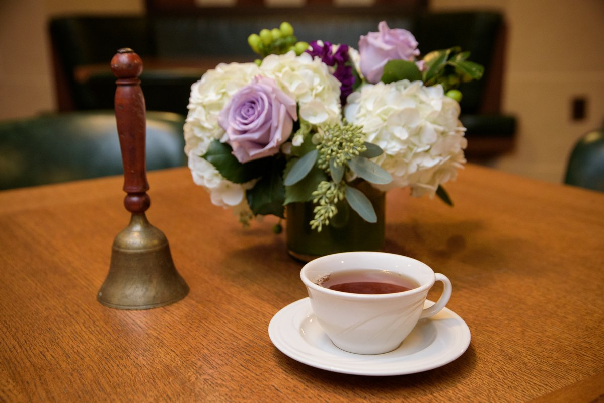 We will not be holding #FolgerTea today due to the federal holiday. But we hope you enjoy a hot beverage this afternoon anyway!