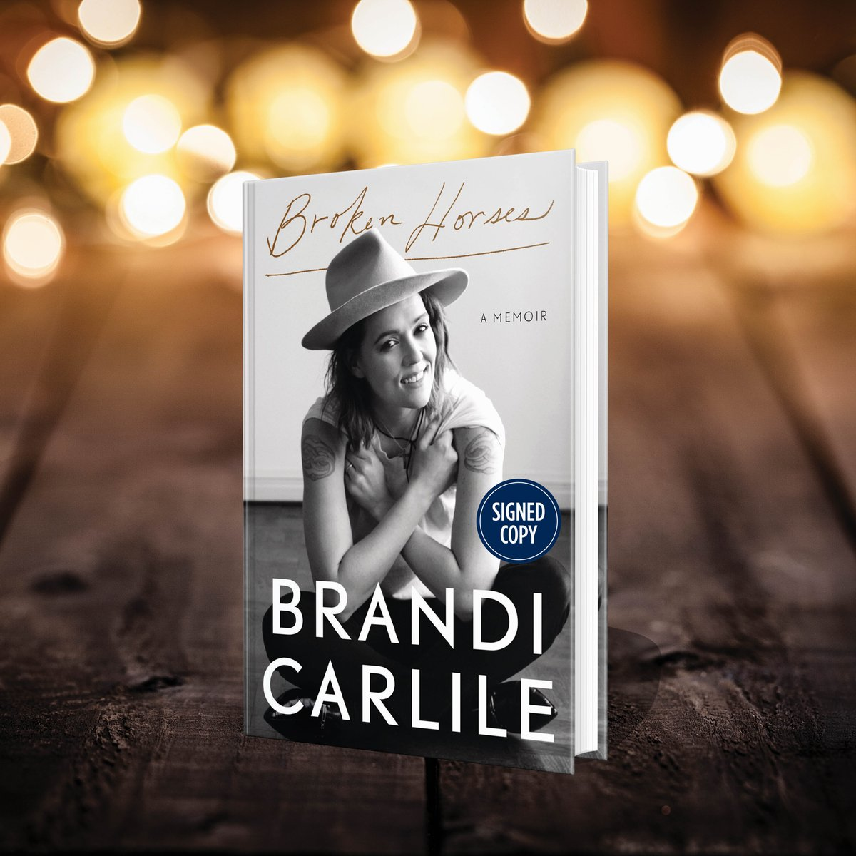 Had the pleasure of hearing @brandicarlile at Bonnaroo in 2015, have been a fan ever since. Looking forward to reading Broken Horses.